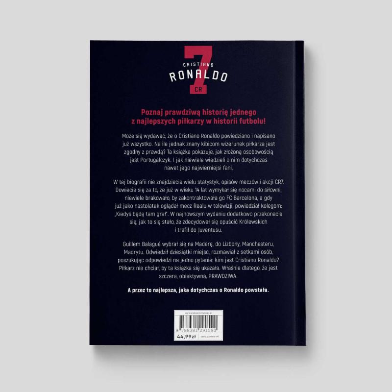 """Okładka książki """"Cristiano Ronaldo. Biografia. Wyd. III"""" na SQN Store"""
