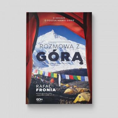 """Okładka książki """"Rozmowa z Górą"""" Rafała Fronii na SQN Store"""