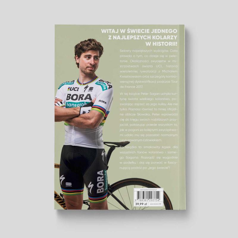 "Okładka książki ""Peter Sagan. Mój świat"" na SQN Store"