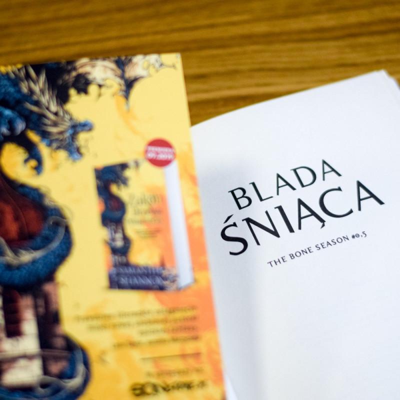 "Książka ""Blada Śniąca"" z serii SQN Originals na SQN Store"