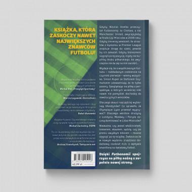 """Okładka książki """"Futbonomia. Wydanie II"""" w SQN Store"""