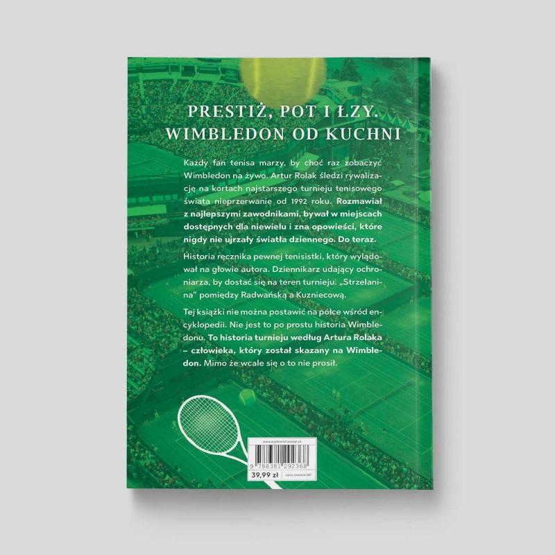 "Okładka książki ""Skazany na Wimbledon"" na SQN Store"