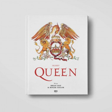 Okładka książki Skarby Queen. Oficjalna historia legendy rocka w księgarni SQN Store