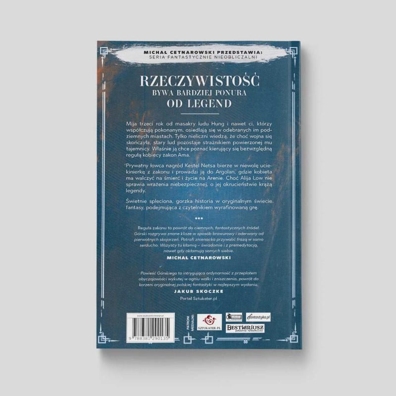 Okładka książki Reguła zakonu na SQN Store