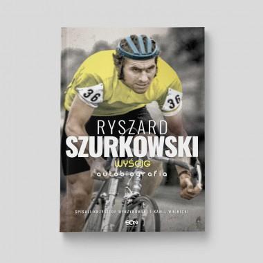 Okładka książki sportowej Ryszard Szurkowski. Wyścig. Autobiografia w księgarni SQN Store