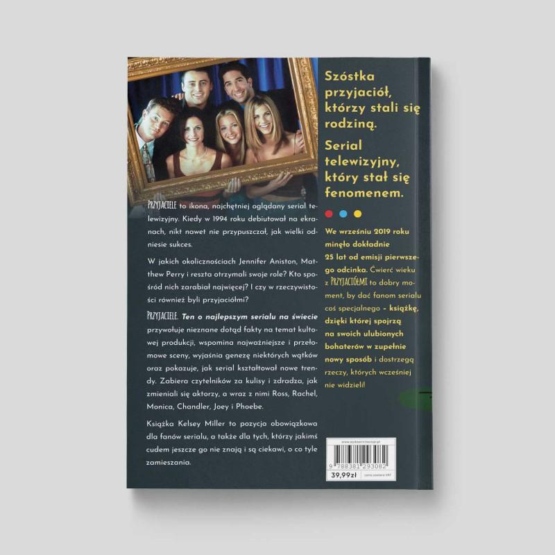 Okładka książki Przyjaciele. Ten o najlepszym serialu na świecie w księgarni SQN Store
