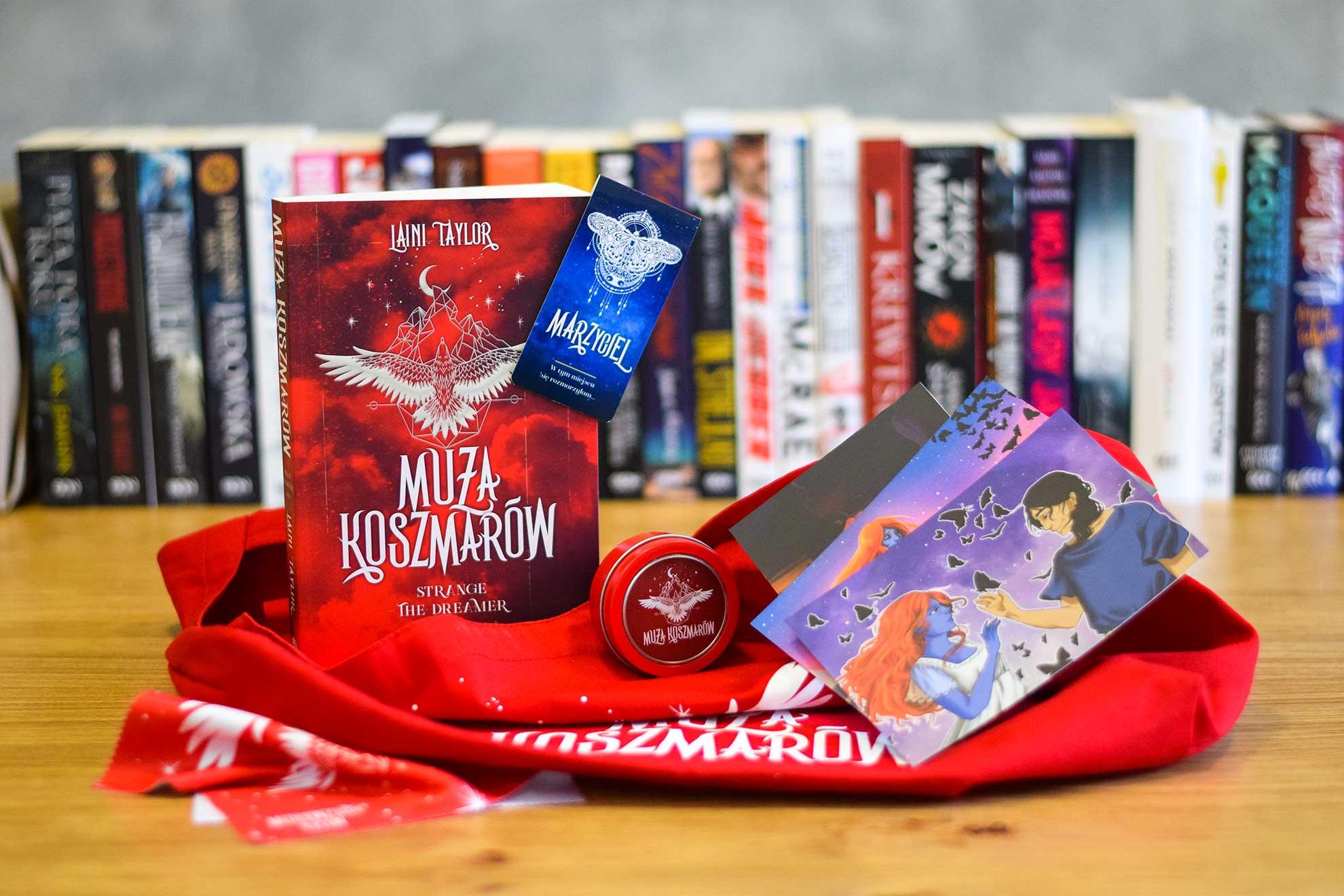 Zdjęcie pakietu Bookbox Muza koszmarów. Tom 2 w SQNstore
