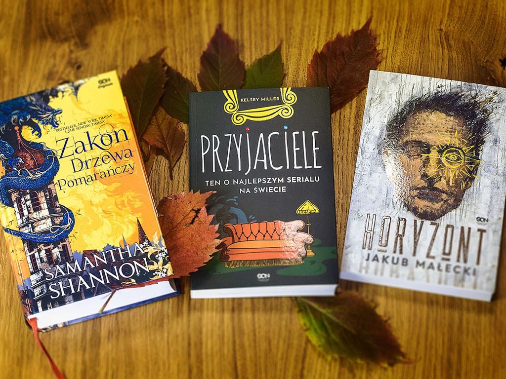Trzy książki, które idealne pasują na jesienne wieczory :)