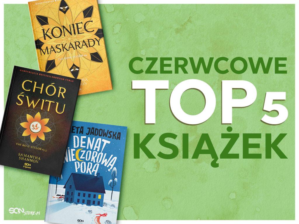 Bestsellery książkowe: Czerwiec 2021